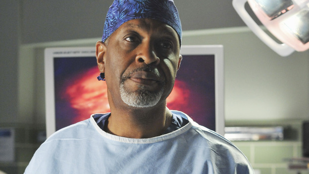 GREY'S ANATOMY - &quot;There's No 'I' in Team&quot; - The Chief during surgery, on &quot;Grey's Anatomy,&quot; THURSDAY, OCTOBER 23 (9:00-10:01 p.m., ET) on the ABC Television Network. (ABC/ERIC MCCANDLESS) JAMES PICKENS JR.