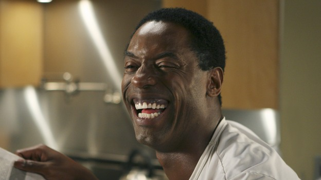 "GREY'S ANATOMY - ""Tell Me Sweet Little Lies"" (ABC/MICHAEL DESMOND) ISAIAH WASHINGTON"