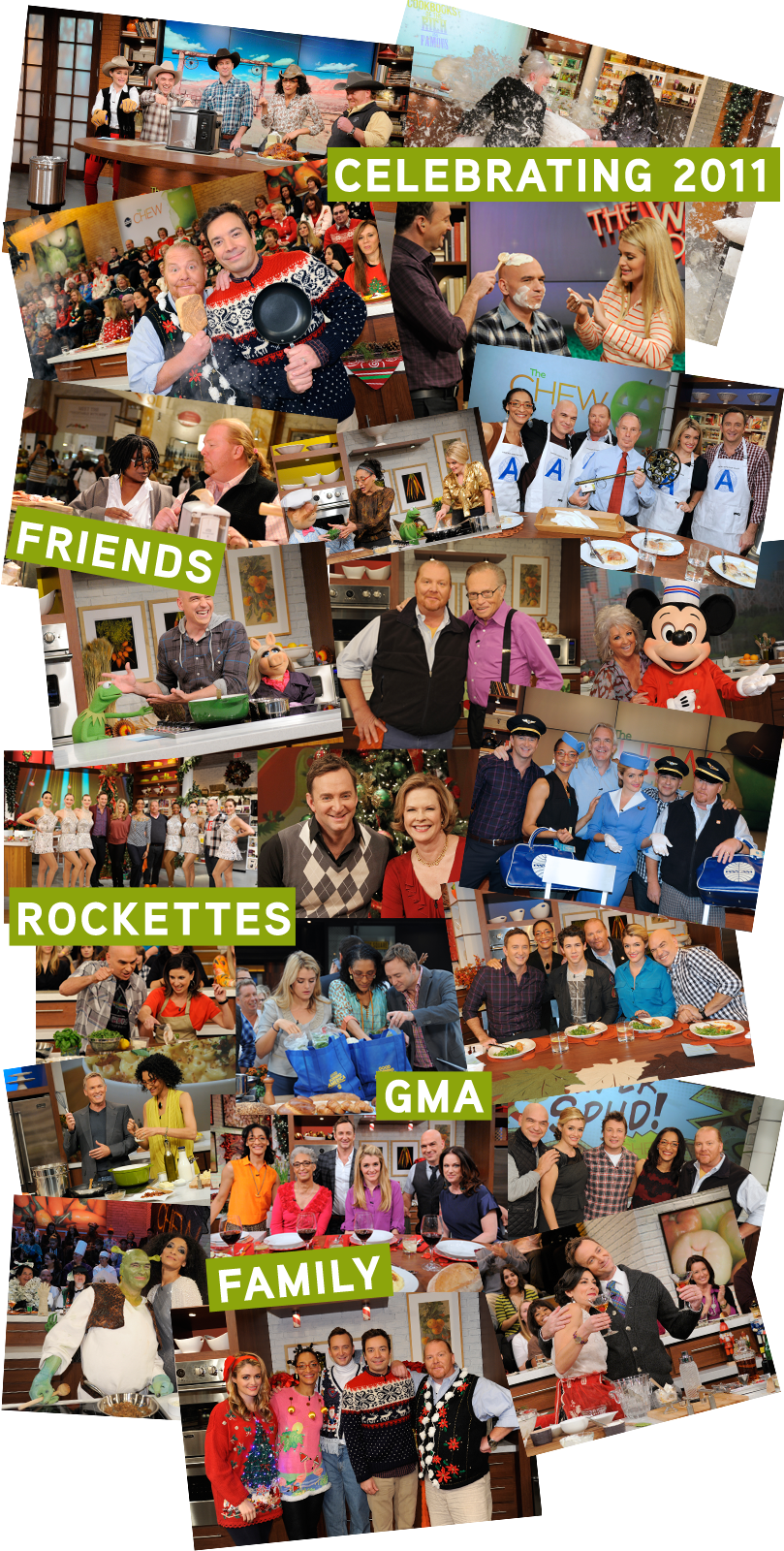 The Chew Collage